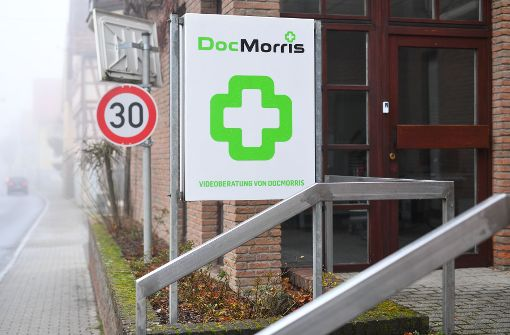 Apothekenautomat von DocMorris in Betrieb