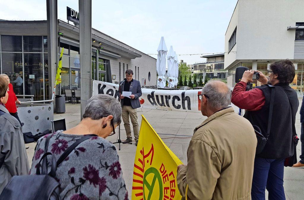Ingo Mörl kritisierte die gestiegenen Kosten von Stuttgart 21. Foto: Amadeus Banerjee