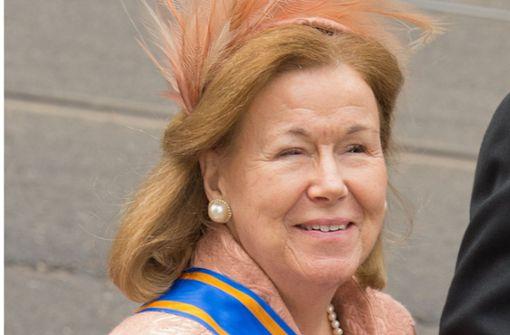 Niederländische Prinzessin an Krebs erkrankt