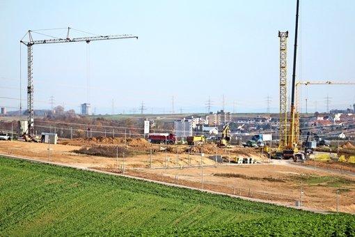 In der Hälde wird bis Ende 2016 gebaut