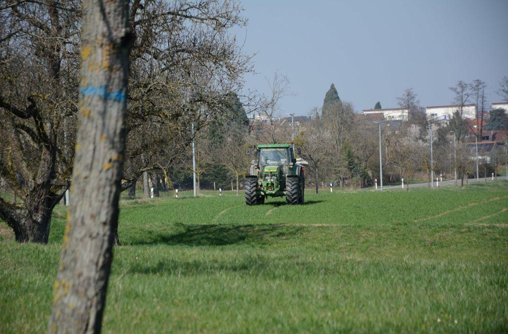 Heute ist der Traktor das wichtigste Arbeitsgerät zur Bewirtschaftung der Felder, nicht nur auf den Fildern. Aber bleibt das auch in Zukunft so? Foto: Philipp Braitinger