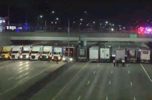 Trucker bewahren Mann vor Suizid