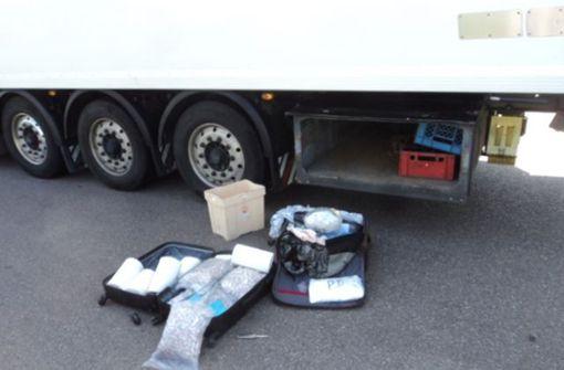Zugekokster Lkw-Fahrer hat 48 Kilogramm Heroin im Gepäck