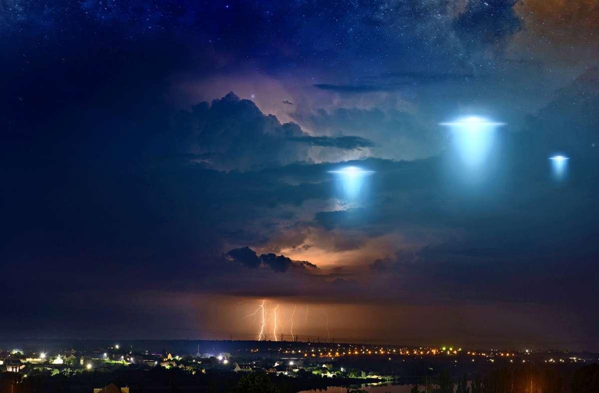 Tausende Ufo-Sichtungen werden jedes Jahr gemeldet, die meisten davon lassen sich nicht belegen. Wird der Geheimdienstbericht etwas daran ändern? Foto: /Igor Zhuravlov