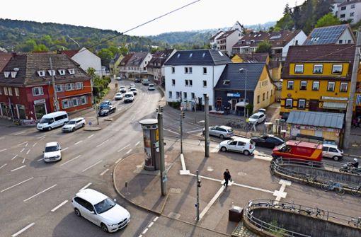 Kreisverkehr am Hedelfinger Platz