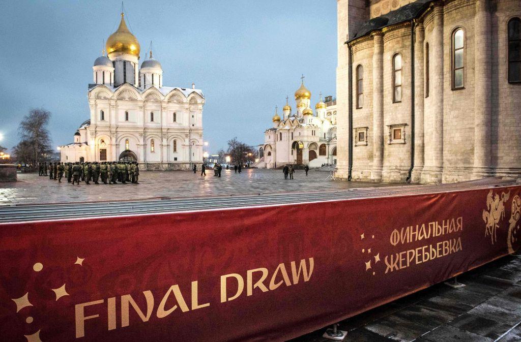 Die WM-Auslosung steigt an diesem Freitag in Moskau. Foto: AFP