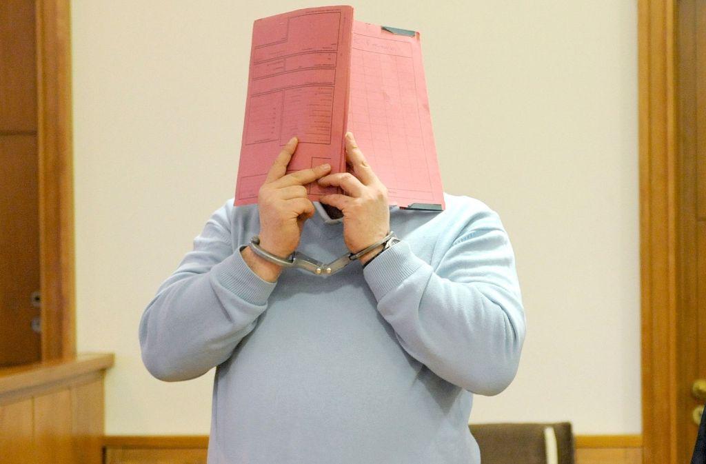 Niels H. während des Prozesses in Oldenburg am 26. Februar 2015. Foto: