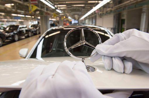 Zu 24-Stunden-Streik bei Mercedes aufgerufen
