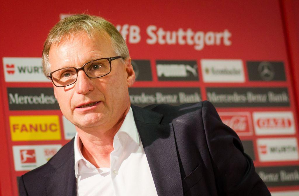 Michael Reschke plant ohne die zweite VfB-Mannschaft. Foto: dpa