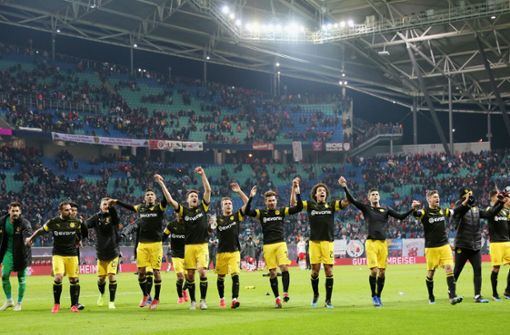 Herbstmeister gewinnt gegen RB Leipzig