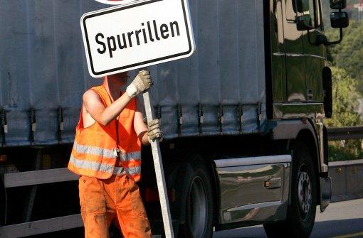 Hitze verursacht Spurrillen auf Autobahnen