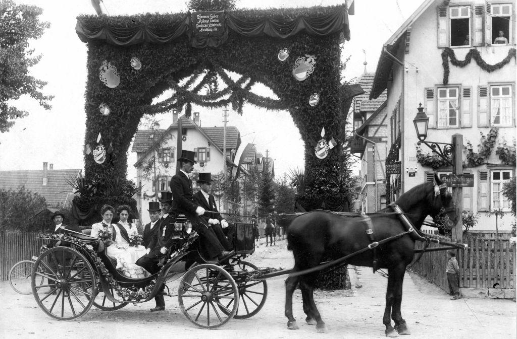 Am 17. Juni 1906 hat der Fildersängerbund sein 25-jähriges Bestehen gefeiert – die Geburtsstunde des späteren Kinderfests. Foto: privat