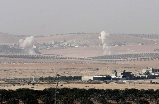 Türkei bekämpft IS  auf syrischem Boden