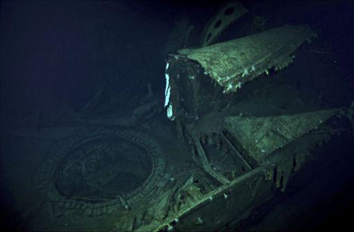 Forscher finden Flugzeugträger aus der Schlacht von Midway 1942
