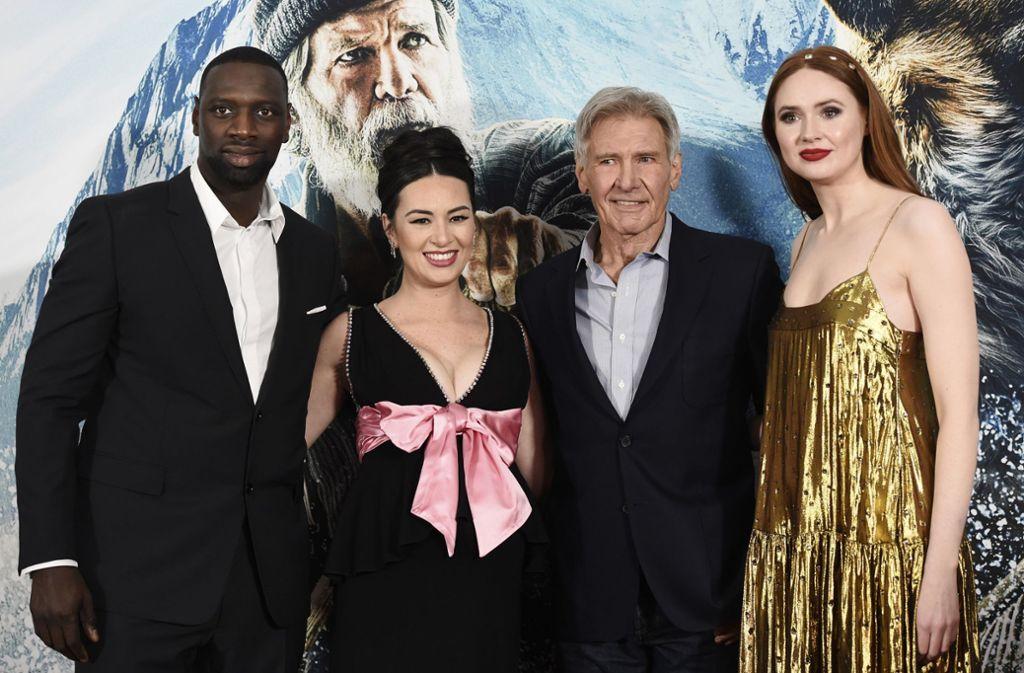 """Der Cast für """"The Call of the Wild"""" ist prominent besetzt und feierte in Hollywood Premiere. Foto: AP/Chris Pizzello"""
