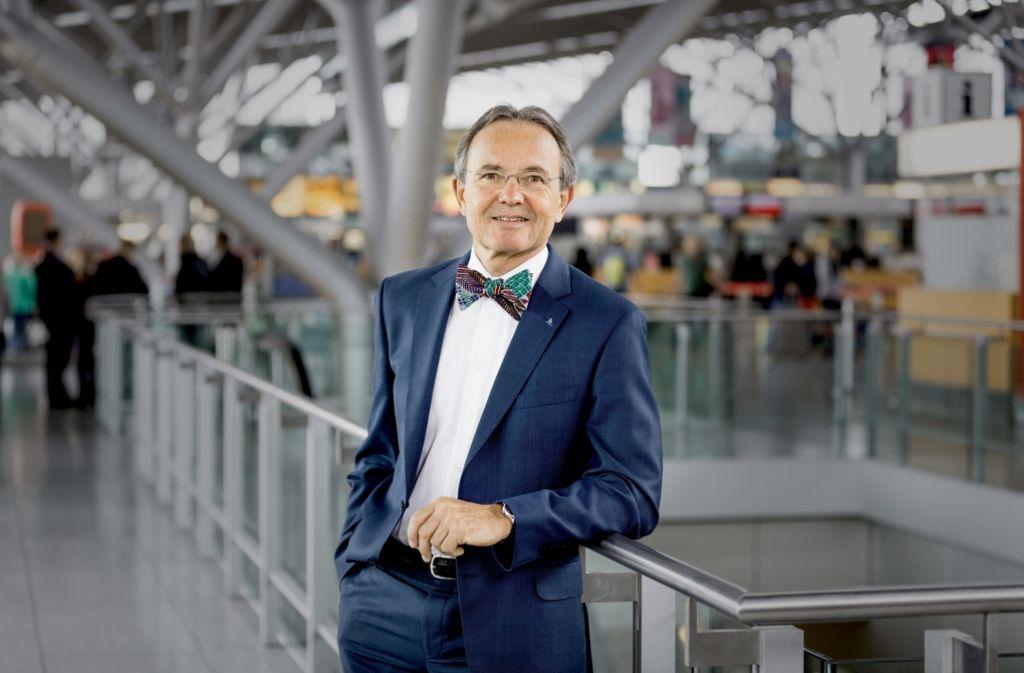 Flughafen-Chef Georg Fundel Foto: Flughafen