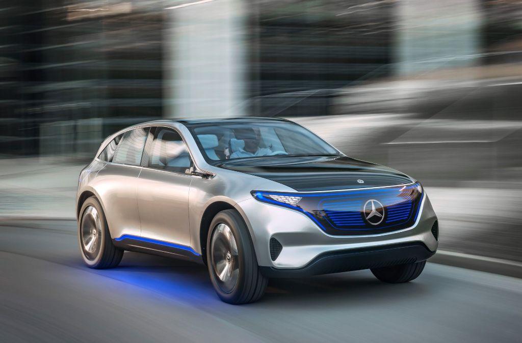 Daimler und die Generation E-Mobilität. Foto: Daimler AG