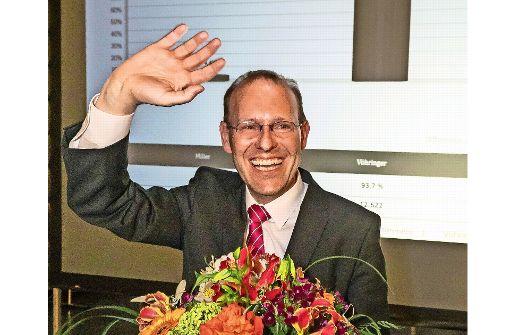 Wahlsieger Vöhringer mit Beteiligung zufrieden