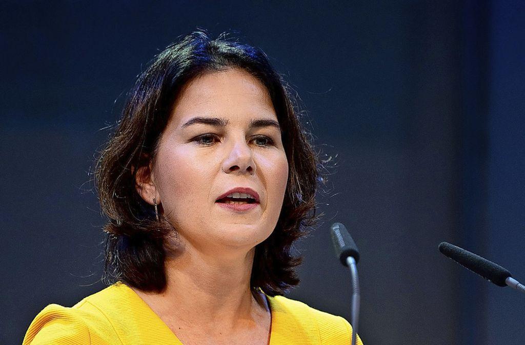 Annalena Baerbock von den Grünen konnte sich im Bundestag mit ihrem Vorschlag zur Reform der Organspende durchsetzen. (Archivbild) Foto: dpa/Monika Skolimowska
