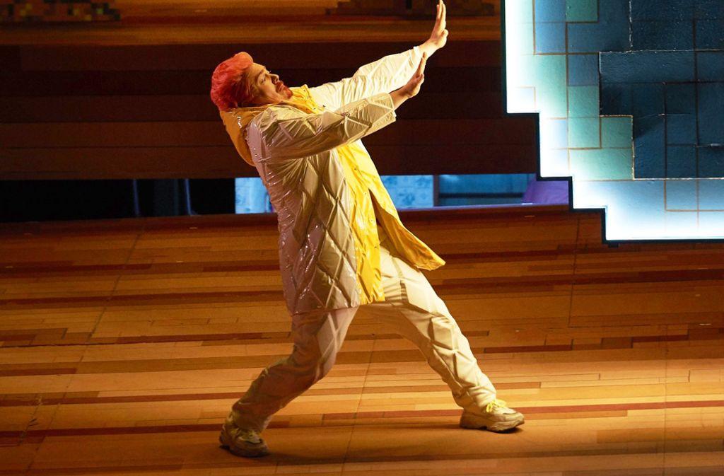 """Szene aus """"Die Liebe zu drei Orangen"""" von Sergej Prokofjew in der Inszenierung von Axel Ranisch  Foto: Matthias Baus"""