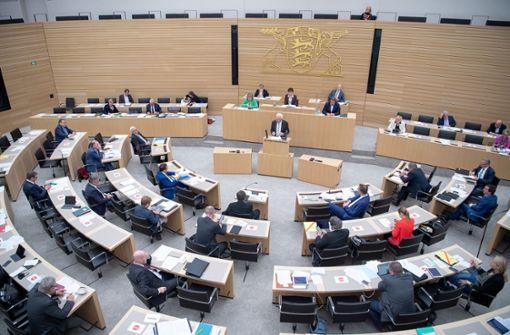 SPD fordert Maskenpflicht im Landtag