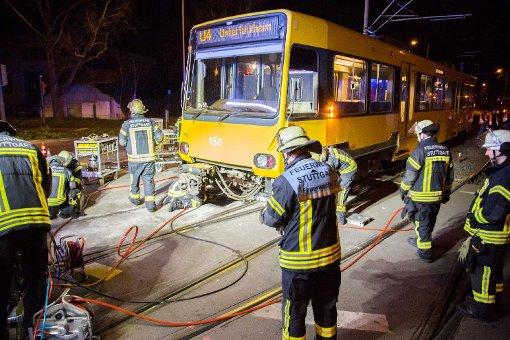 Stadtbahnen entgleist - Strecke der U4 gesperrt