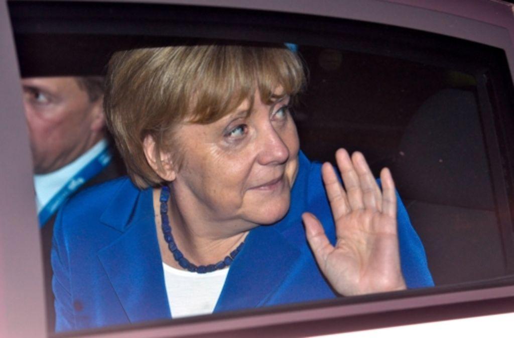 In Brisbane stieg Kanzlerin Angela Merkel aus ihrer Limousine und posierte für Selfies. Foto: Getty Images AsiaPac