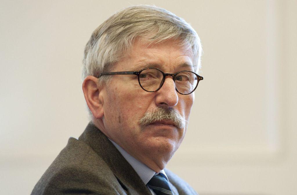 Thilo Sarrazin will das Urteil zu seinem Parteiausschluss nicht akzeptieren. Foto: dpa