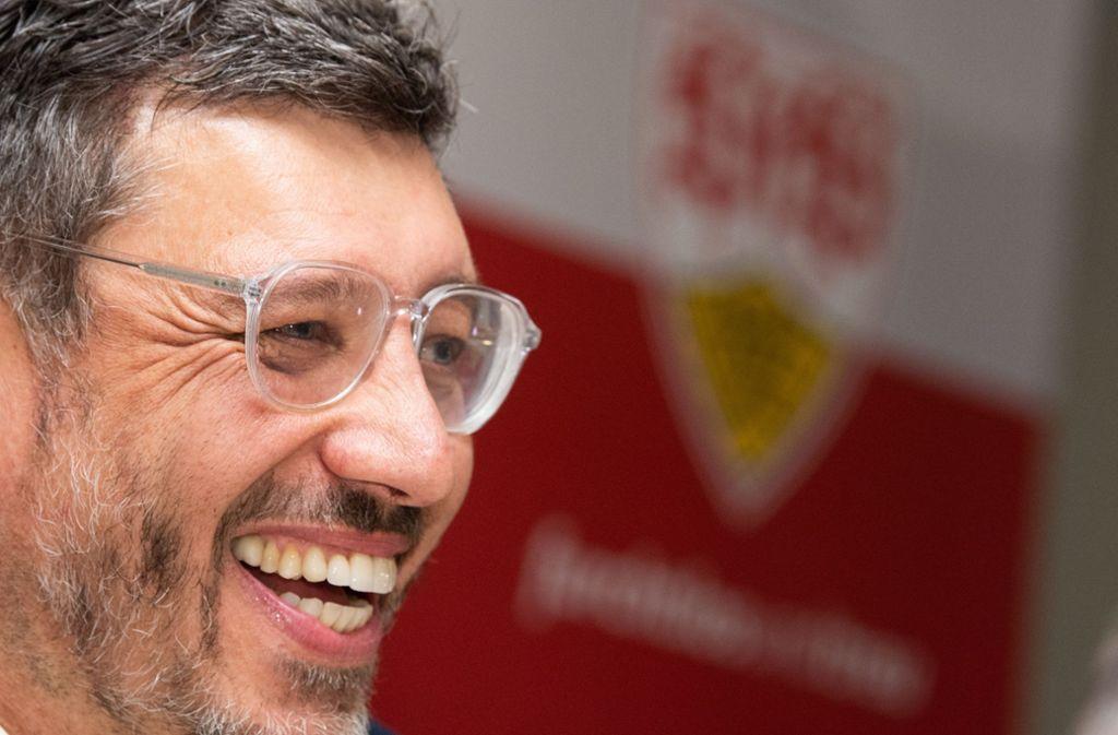 Präsident Claus Vogt möchte sechs bis acht Persönlichkeiten wie den Bundestagsabgeordneten Cem Özdemir für den VfB Stuttgart gewinnen. Foto: dpa/Tom Weller