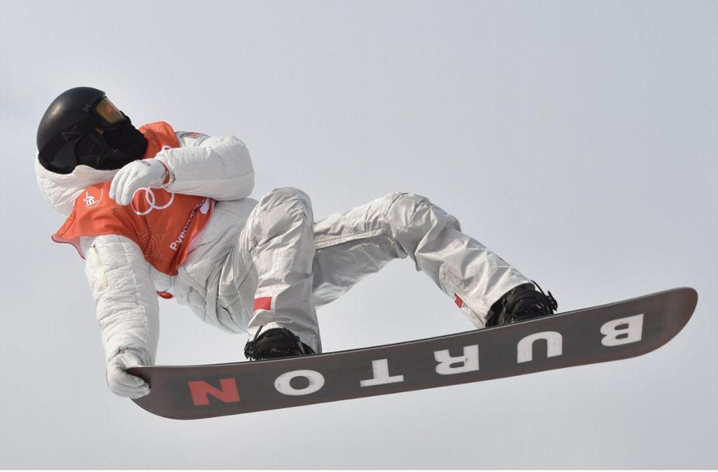 Mission Olympiagold: Snowboard-Superstar Shaun White will hoch hinaus Foto: dpa