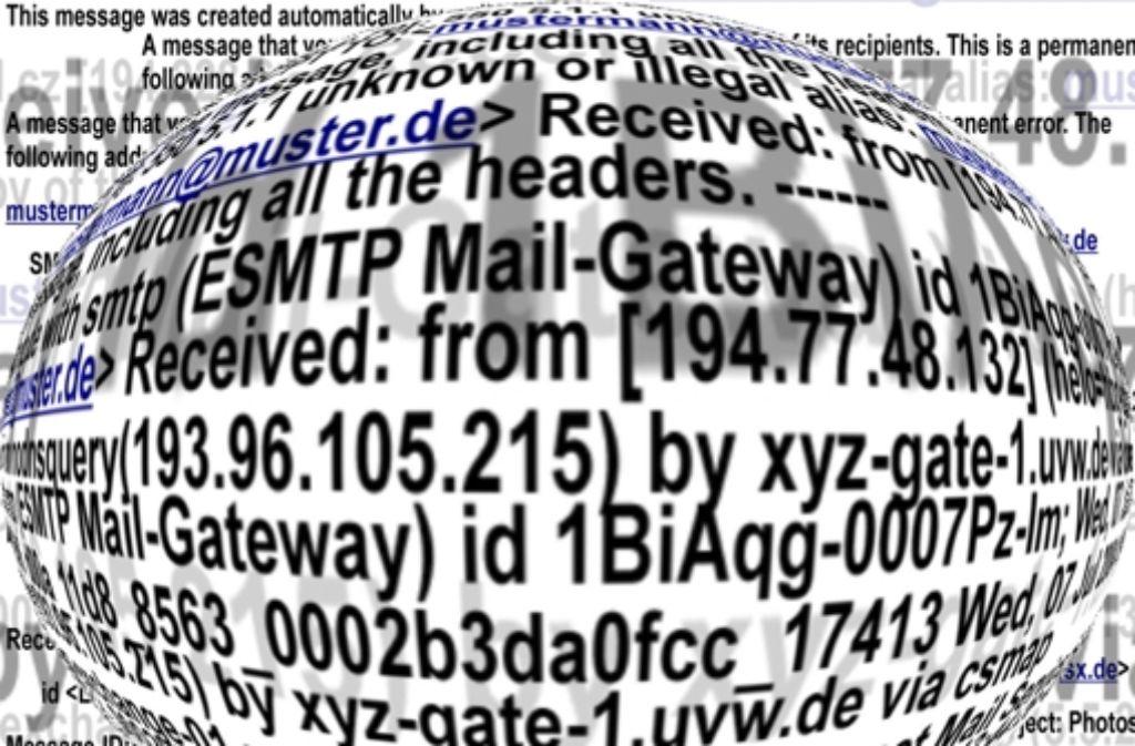 Binkowskis Welt: Heute geht es um gelöschte E-Mails und deren Folgen.. Foto: LKZ