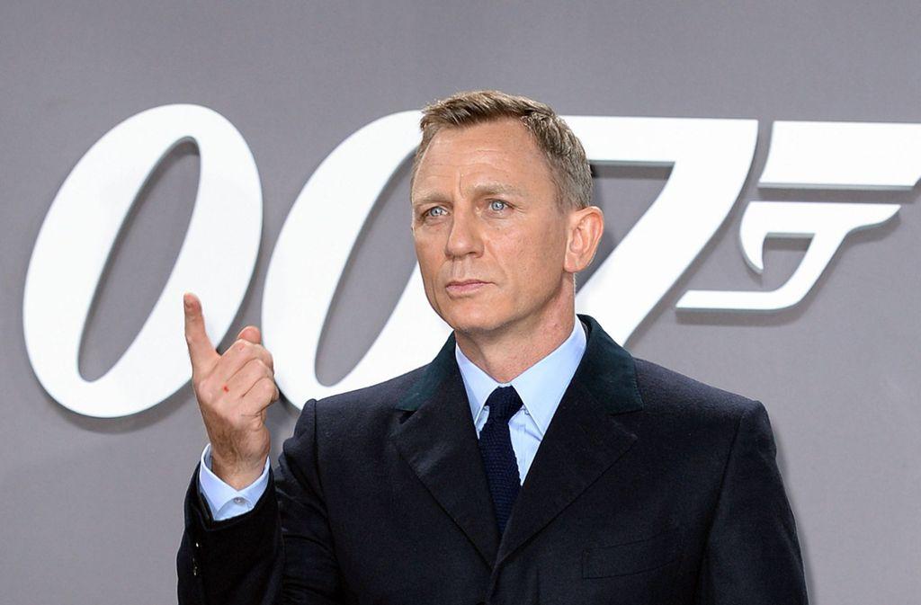 Daniel Craig wird zum fünften Mal als James Bond auf Verbrecherjagd gehen. Foto: dpa