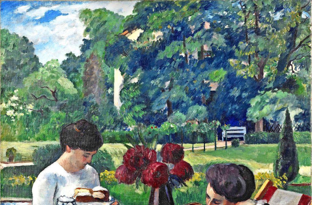 """Henri Manguin: """"Die Teestunde in der Villa Flora"""" (1912) Foto: Reto Pedrini, VG Bild-Kunst 2016"""