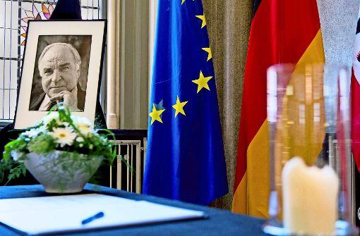 Helmut Kohl, ein mutiger Europäer