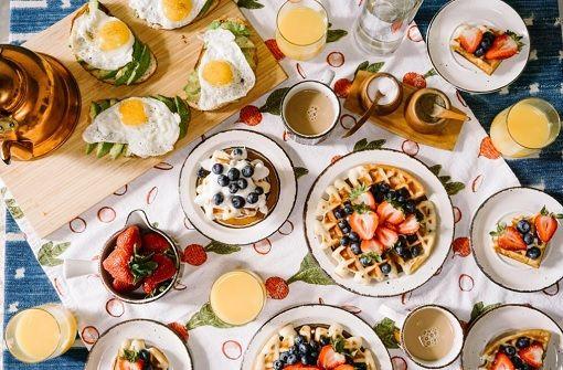 Hier gibt es spätes Frühstück