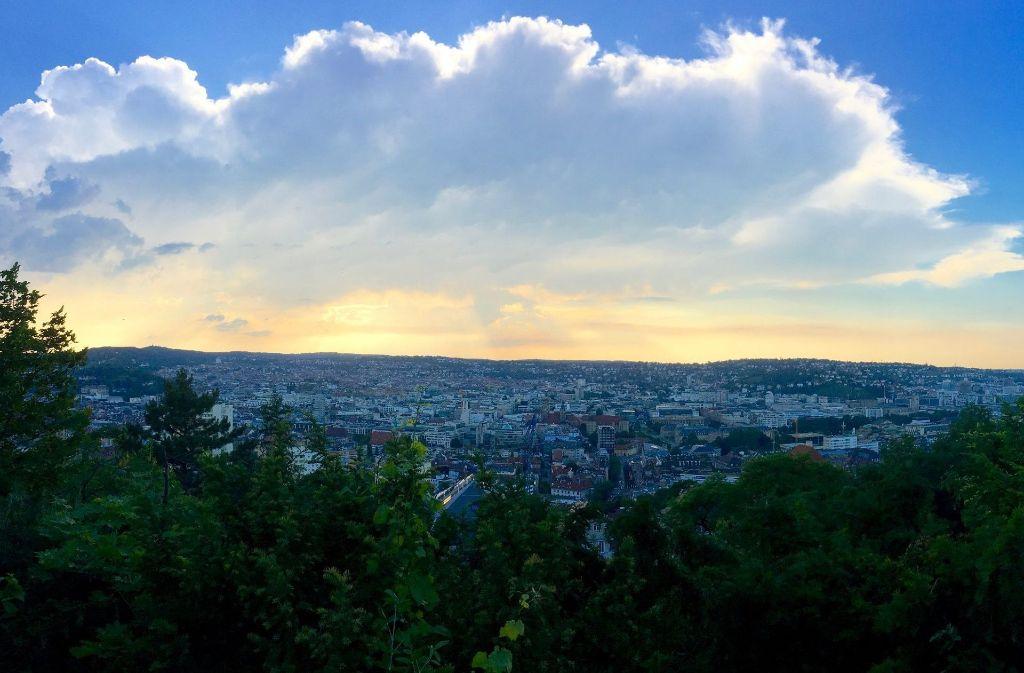 Stuttgart hat außergewöhnlich viele Aussichtsplätze zu bieten. Foto:Tanja Simoncev Foto:
