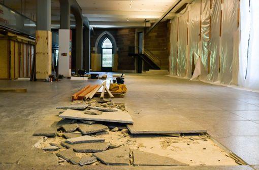 Bau der Eingangshalle dauert länger – das hat Folgen