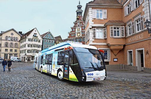 Demnächst könnten noch mehr Elektrohybridbusse durch Esslingen fahren. Foto: Horst Rudel