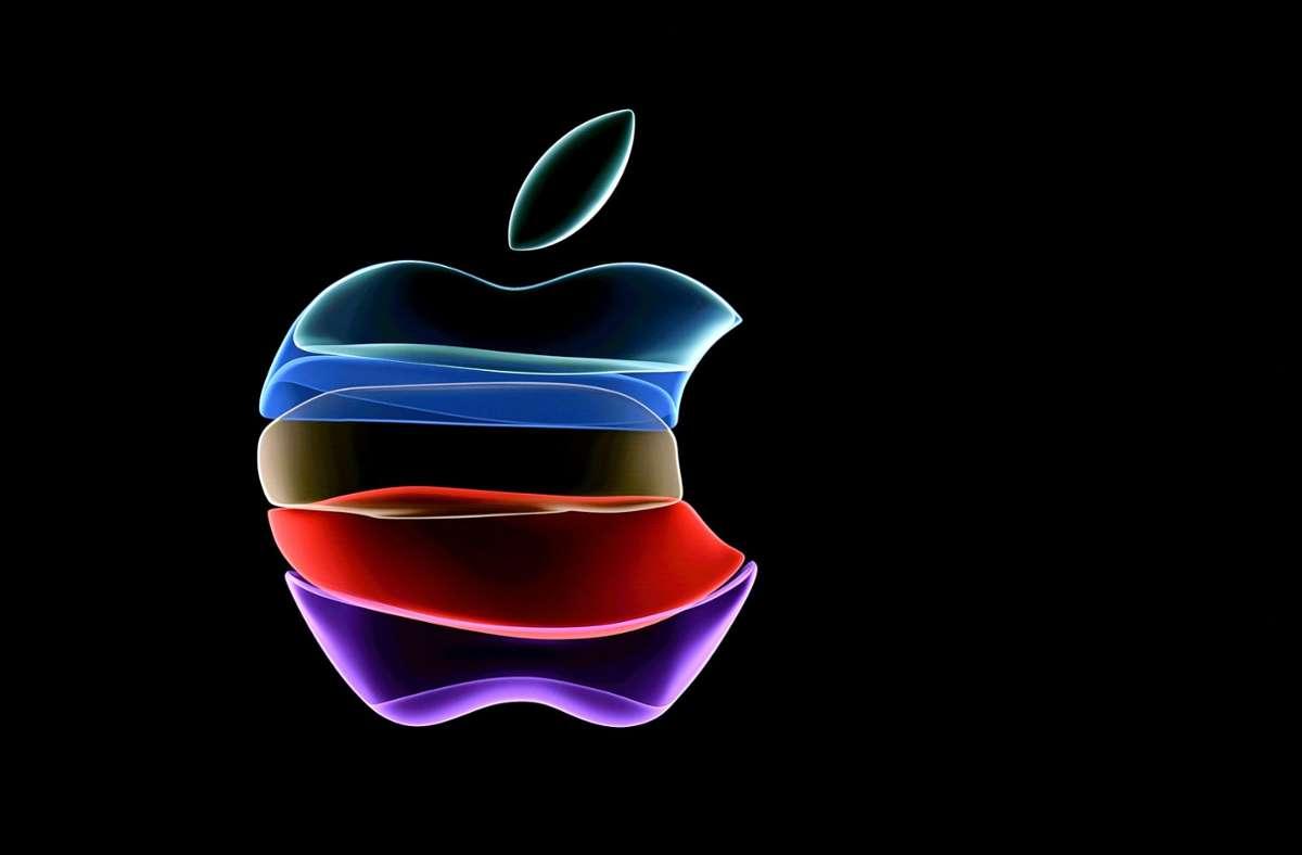Apple hat zu einem Online-Event am 10. November geladen. (Symbolbild) Foto: AFP/JOSH EDELSON