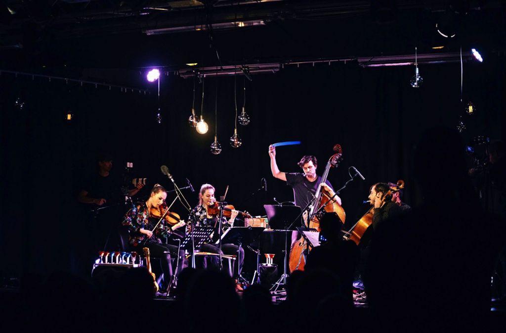 Klassische Musik im Pop-Ambiente – beim vielfach preisgekrönten Podium-Festival   passt vieles zusammen, was eigentlich unmöglich erscheint. Foto: Verena Ecker