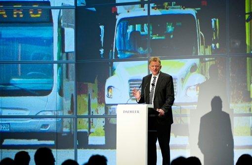Daimler bremst  bei Lkw