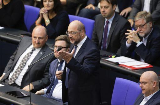 Schulz attackiert AfD-Fraktionschef Gauland