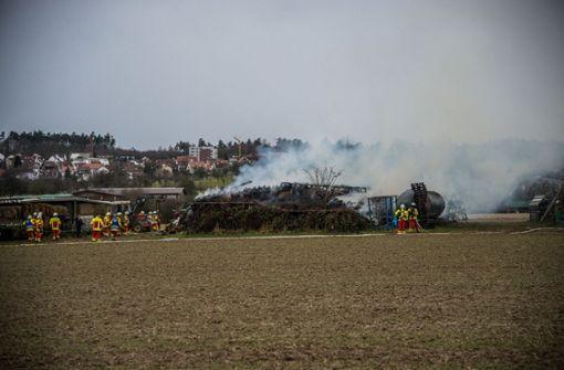 Großbrand sorgt für immensen Schaden