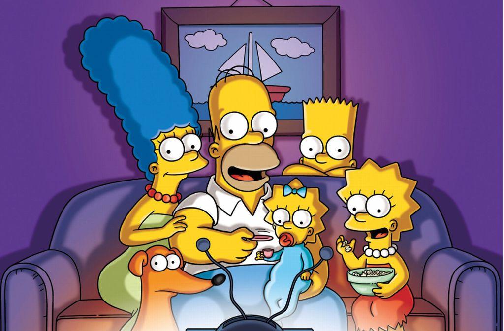 Beliebte TV-Familie: Die Simpsons Foto: dpa