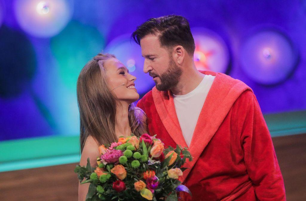 Auf der Erfolgsspur: Michael Wendler und seine Laura. Foto: Rolf Vennenbernd/dpa