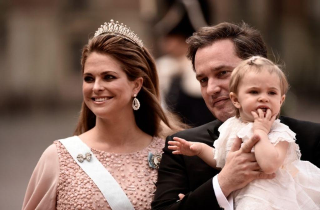 Prinzessin Leonore hat einen kleinen Bruder: Madeleine von Schweden und Chris ONeill sind Eltern geworden. Foto: Getty Images Europe