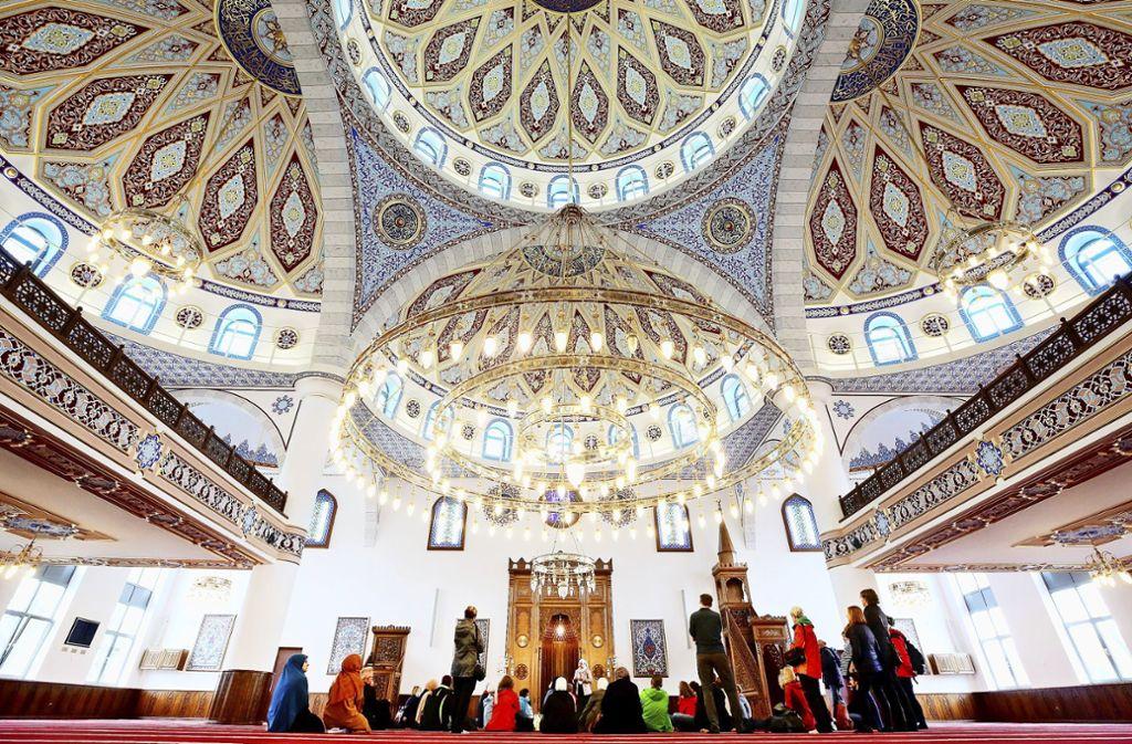 Moschee in Duisburg-Marxloh Foto: dpa/Roland Weihrauch