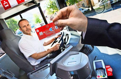 Neue Bezahl-Methode  im Bus