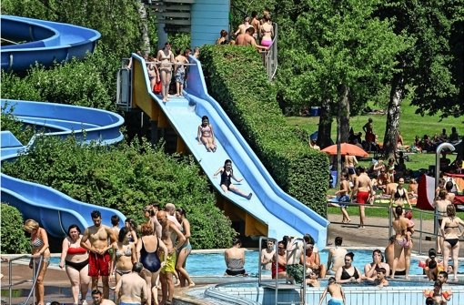 Nur noch eine Woche Schwimmen im Leobad