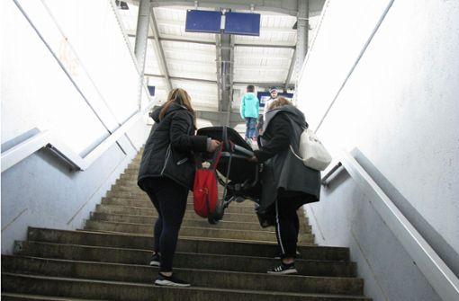Als Visitenkarte taugt Fellbachs Bahnhof  nicht